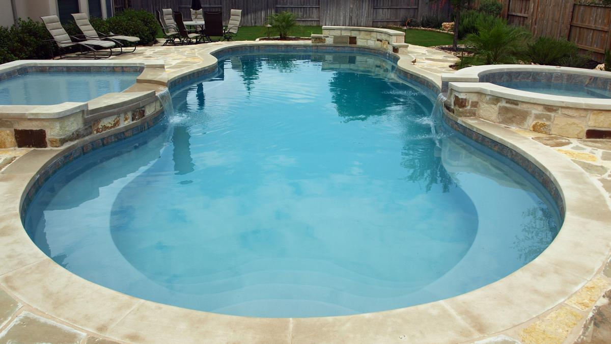 The Caribbean Fiberglass Pool by Leisure Pools