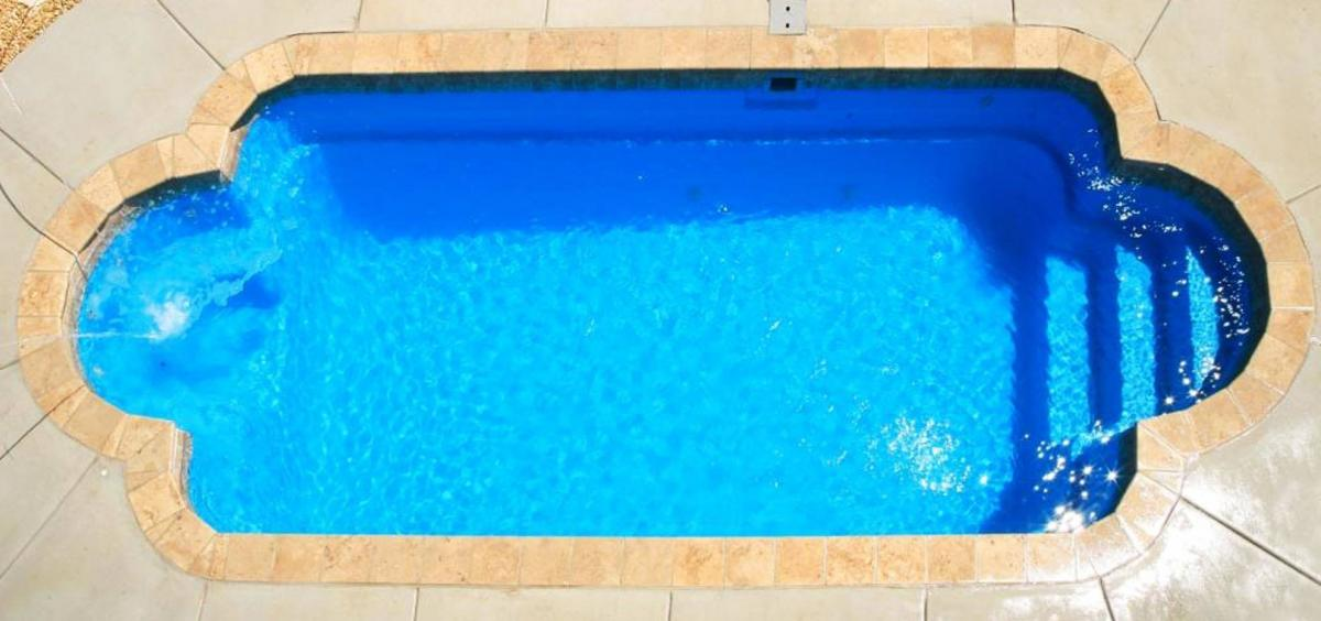 The Roman Fiberglass Pool by Leisure Pools