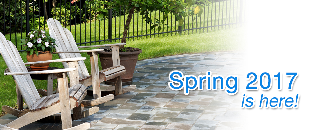 Your patio deserves a few minutes of your time! Patios installed by Elvio  and Sons are constructed using products by Unilock, ... - Spring Paver Maintenance: Readying Your Patio For The Season Elvio