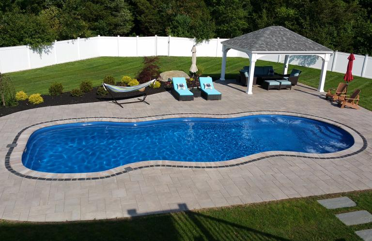 Unilock Paver Pool Patio