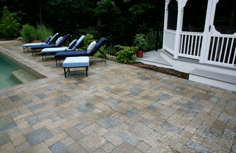 Cranston Gunite Pool and Patio
