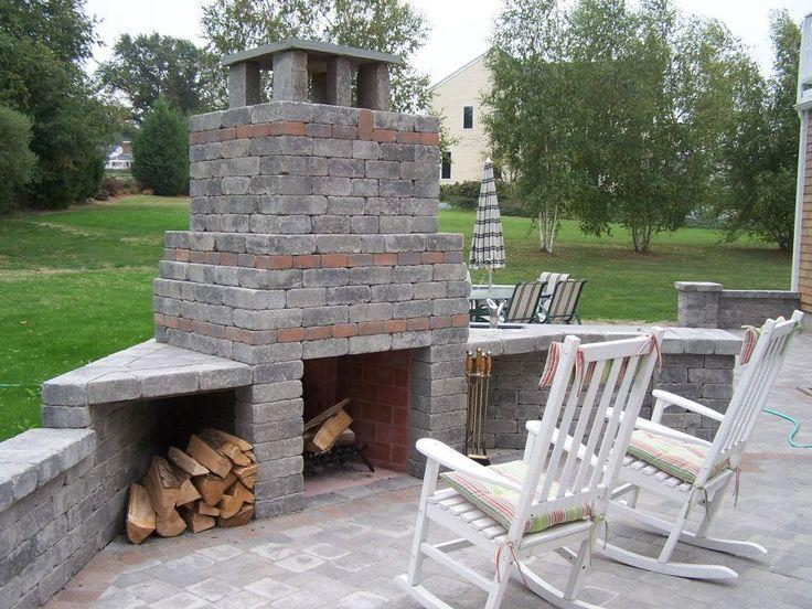 Portsmouth Fire Place and Outdoor Kitchen